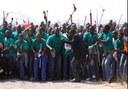 Marikana platin işçileriyle dayanışma