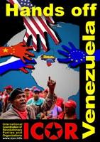 ¡Manos fuera de Venezuela!  ¡Participen el 16 de mayo de 2019 – el día de solidaridad mundial de la ICOR con el pueblo venezolano!