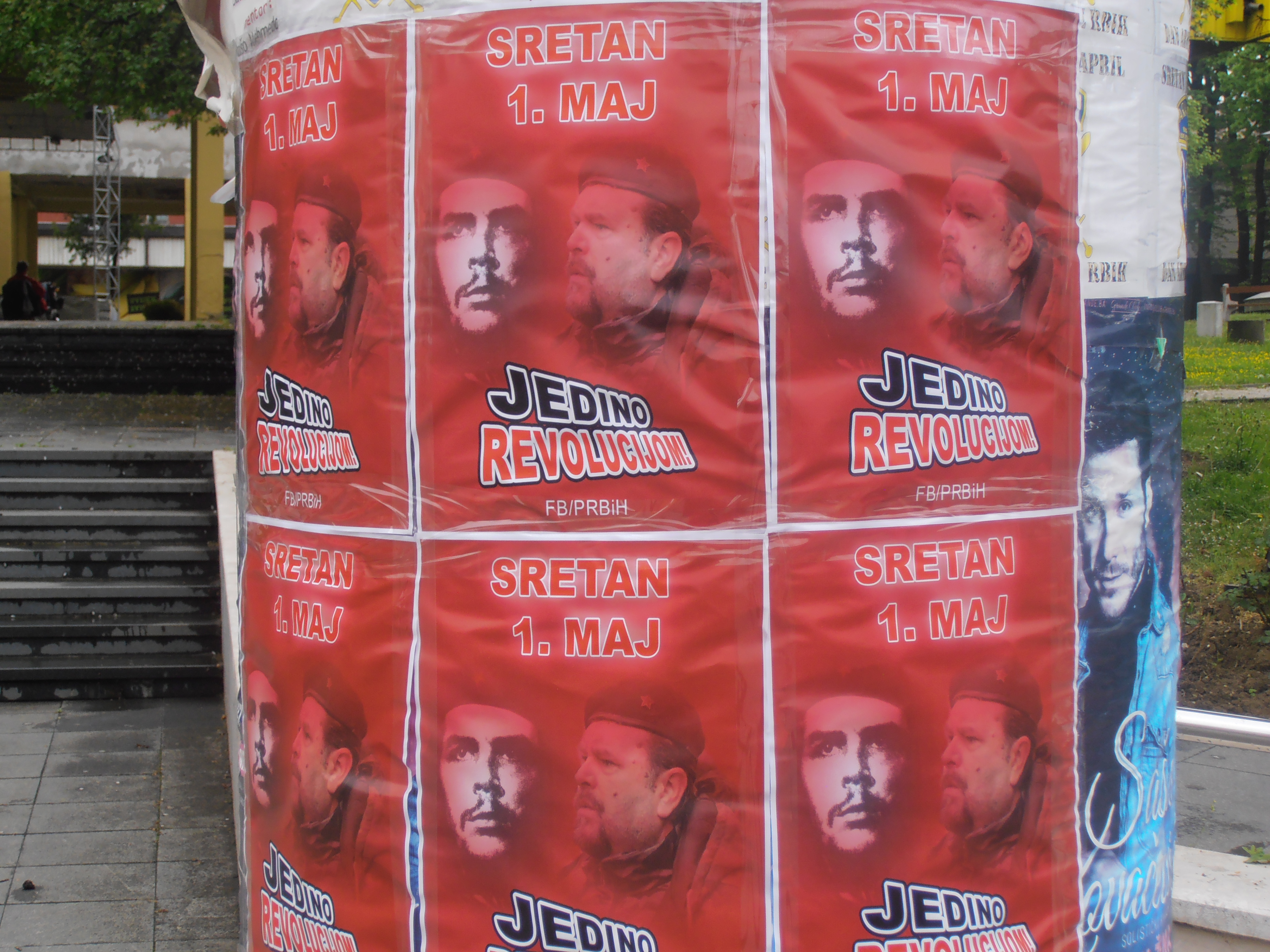 Bosnia and Herzegovina: Posters by Partija Rada