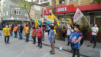 Turkey: A week of work was declared because the fascist state had announced curfews for Mayday